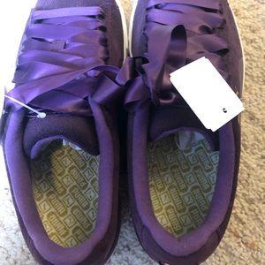 PUMA Purple Suede Golf Shoes - US Size 7